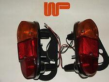 CLASSIC MINI - MK1 SALOON REAR LAMP ASSEMBLIES LH & RH..13H222/3...Also Fits MGA