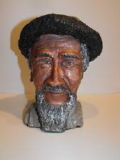Chinese Tajik Man of Wakhi Group Bust Sculpture