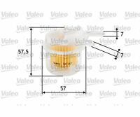 VALEO Fuel filter 587017