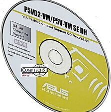 ASUS P5VD2-VM P5V-VM SE DH MOTHERBOARD AUTO INSTALL DRIVERS M969
