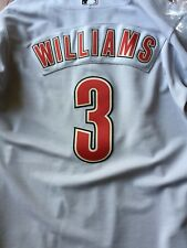 Jimy Williams Houston Astros 2004 Game Used Jersey All Star Game Patch