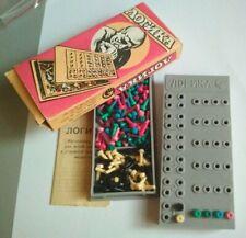 ☭ Soviet board  logic game LOGIKA old stock USSR 1980 gift