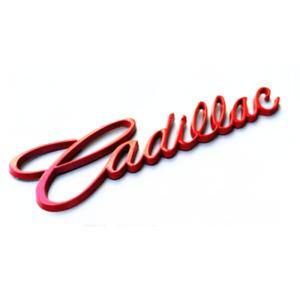 Red Car Rear Trunk Lid Cadillac Logo Emblem for XT5 CT6 XTS ATSL SRX Escalade