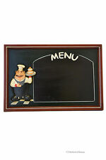 "24"" x 16"" Grande Grasso FRANCESE chef LAVAGNA MENU BOARD Muro Appeso Decor"