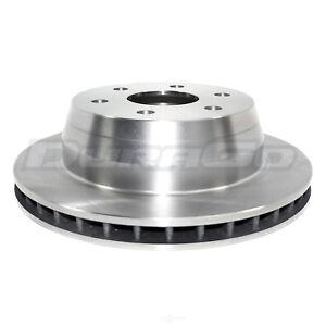 Disc Brake Rotor Rear IAP Dura BR55067