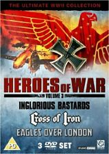 Heroes of War (Inglorious Bastards  Cross of Iron  Eagles Over London) [DVD]