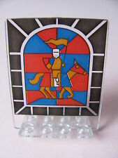 LEGO 30102px2 @@ Door 2x5x5 Swivel Stained Glass Knight Pattern 6091 6095 6098