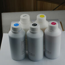 5 Bottles of 500ml Textile Ink for Cloth T-shirt DTG Printing UV Printer