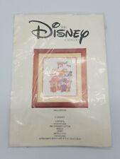 "Disney Catalog Halloween Cross Stitch Kit New Vintage 8"" x 10"" Frameable Mickey"