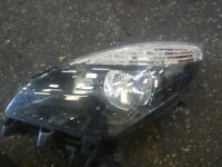 Renault Scenic MK3 2009-2013 Passenger NSF Front Headlight Black Backing
