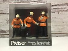 PREISER FIGURES 7563 MEN IN ORANGE OUTFITS - G SCALE