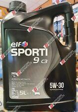 Elf Sporti 9 C3 5W-30 5W30 GM Dexos 2 High Performance Engine Oil - 5 Litre