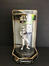"""Star Wars Stormtrooper 6"""" Epic Force with Rotating Base Action Figure.Kenner"""