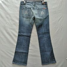 """7 for All Mankind """"A"""" pocket Bootcut Womens Jeans Size 29"""