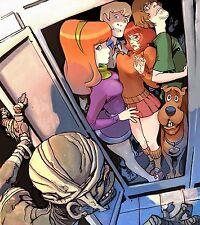 "Scooby Doo Poster Cartoon Art Silk Wall Posters Kids Room Decor 16x18"" SCP1"