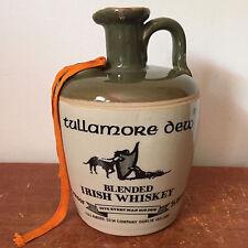 Vintage Tullamore Dew Blended Irish Whiskey 4/5 qt Jug EMPTY Dublin Ireland