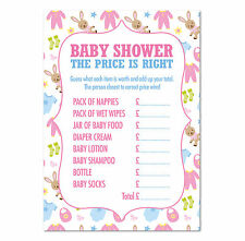 """Baby Shower """"le juste prix"""" JEU, Pack de 16, multicolore, garçons/filles"""