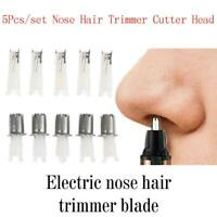 5*Nose Hair Cutter Nose Trimmer Replacement Head 3-in-1 Electric Shaver AU