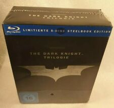 The Dark Knight Trilogy Blu-ray DigiBook 5 Disc Special Edition Germany Fr New