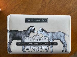New Beekman 1802 Fragrance Free Pure Goat Milk Soap Palm Size 3.5 oz