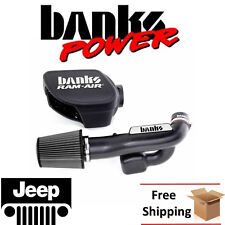 Banks Power Cold Air Intake System 2012-2016 Jeep Wrangler 3.6L Dry Filter