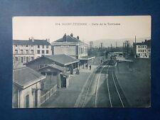 L434 . CPA. Loire. Saint Etienne. Gare de la Terrasse