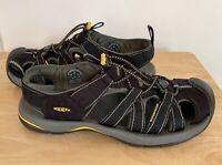 Keen Mens Kanyon Fisherman Sandals Black Waterproof Bungee Cord 1126-BKGA 9