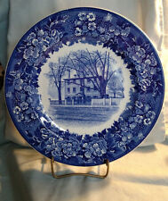 Wedgwood Longfellow's Early Home Souvenir Plate - Portland, Maine