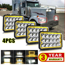6 inch 100W Halogen Driver side WITH install kit -Chrome 2007 Western Star 4900 SERIES Post mount spotlight