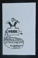 Affiche originale mai 68 URNE Pierre MENDES-FRANCEposter may 1968 011