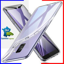 Coque tel Galaxy housse étui TPU silicone transparent samsung S7/S8/S9/S9+ plus