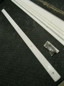 "2"" x 48"" Boat Trailer BUNK SLIDE Plastic Board Rail 1/2"" Poly Board Slick Slides"