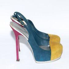 Stiletto Suede Slingbacks Standard Width (B) Heels for Women