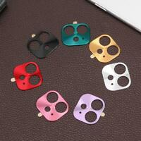 Metal Mobile Phone Lens Protective Case Anti-Scratch Camera Cover for iPhone 11