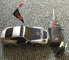 Polizeiauto, ferngesteuert,Tasteranschluss, Unterstützte Kommunikation,unbenutzt