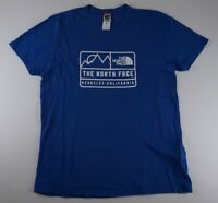 The North Face T-Shirt Gr.L blau uni Rundhals -598