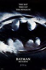 Batman Returns Movie Poster (24x36) - Michael Keaton, Danny DeVito, Pfeiffer v3