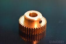 Zahnrad 36 Ritzel Modul 0,5 Messing Nabe 6mm Welle Antrieb RC Extruder RepRap 3D