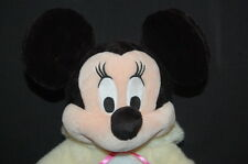 "Disney Minnie Mouse Easter Bunny Rabbit Scented Costume Plush 14"" Toy Lovey"