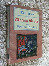 The Book of the Magna Carta by Geoffrey Hindley