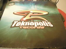 Teknopolis Records Presenta – teknopolis ALFA (Spanish Transe/Techno) (VG +)