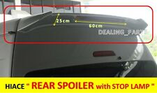REAR SPOILER V.3 FOR TOYOTA HIACE 2004 - 2013