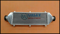 Universal Turbo FMIC Aluminum Intercooler 520x160x50mm Tube & Fin In/Outlet 67m