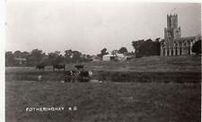 Fotheringay Nr Oundle RP old pc used  1950 ish