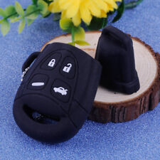 4 Button Silicone Remote Key Cover Shell Case Fob Keychain Ring For Saab 9-3 9-5