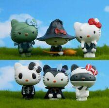 SET 6 STATUETTE HELLO KITTY PERSONAGGI action figure giocattoli toys cat doll