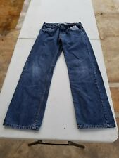 Levis 505 straight leg jeans size Boys 16 regular 28x28