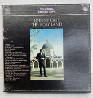 JOHNNY CASH (The Holy Land)REEL TO REEL Columbia Stereo 4TRACK 7 1/2 IPS HC 1056
