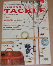 Catalogue de pêche 1955 Fishing Tackle rivière mer canne moulinet trolling