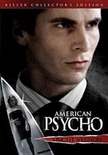 American Psycho DVD 2000 Christian Bale Collectors Edition Uncut Version